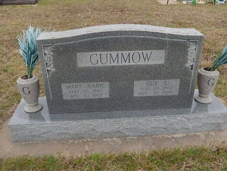 GUMMOW, MARY MARIE - Kay County, Oklahoma   MARY MARIE GUMMOW - Oklahoma Gravestone Photos