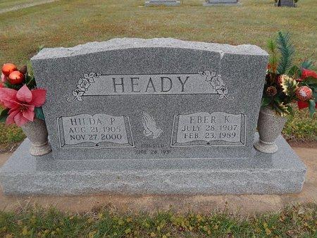 HEADY, HILDA P - Kay County, Oklahoma | HILDA P HEADY - Oklahoma Gravestone Photos