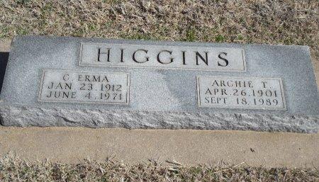 HIGGINS, C ERMA - Kay County, Oklahoma | C ERMA HIGGINS - Oklahoma Gravestone Photos