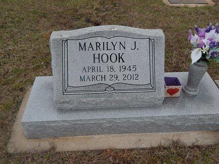HOOK, MARILYN J - Kay County, Oklahoma | MARILYN J HOOK - Oklahoma Gravestone Photos