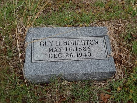 HOUGHTON, GUY H - Kay County, Oklahoma   GUY H HOUGHTON - Oklahoma Gravestone Photos