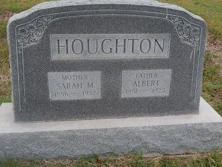HOUGHTON, ALBERT - Kay County, Oklahoma | ALBERT HOUGHTON - Oklahoma Gravestone Photos