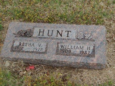 HUNT, RETHA V - Kay County, Oklahoma | RETHA V HUNT - Oklahoma Gravestone Photos