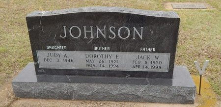 JOHNSON, JACK W - Kay County, Oklahoma | JACK W JOHNSON - Oklahoma Gravestone Photos