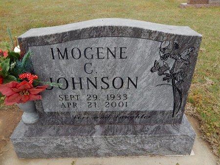 HEADY JOHNSON, IMOGENE C - Kay County, Oklahoma | IMOGENE C HEADY JOHNSON - Oklahoma Gravestone Photos