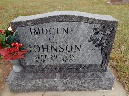 JOHNSON, IMOGENE C - Kay County, Oklahoma | IMOGENE C JOHNSON - Oklahoma Gravestone Photos