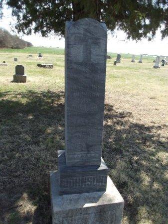 JOHNSON, JOSEPHINE AND CARL - Kay County, Oklahoma | JOSEPHINE AND CARL JOHNSON - Oklahoma Gravestone Photos