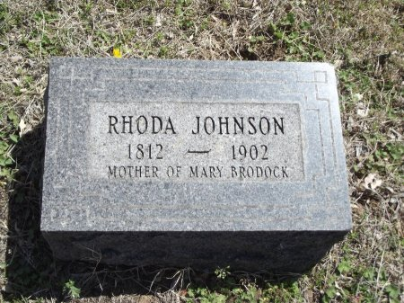 JOHNSON, RHODA - Kay County, Oklahoma | RHODA JOHNSON - Oklahoma Gravestone Photos