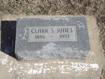 JONES, CLARK S - Kay County, Oklahoma   CLARK S JONES - Oklahoma Gravestone Photos