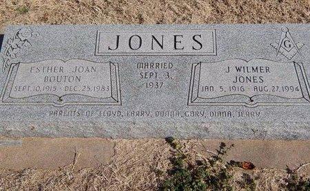 JONES, ESTHER JOAN - Kay County, Oklahoma | ESTHER JOAN JONES - Oklahoma Gravestone Photos