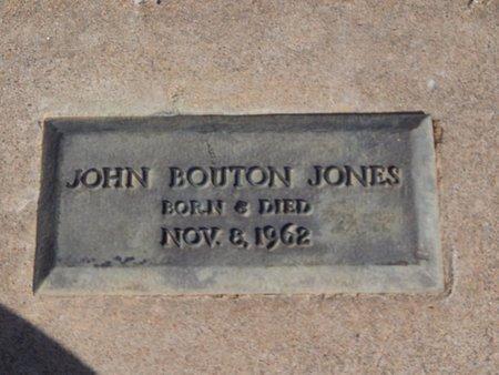 JONES, JOHN BOUTON - Kay County, Oklahoma | JOHN BOUTON JONES - Oklahoma Gravestone Photos