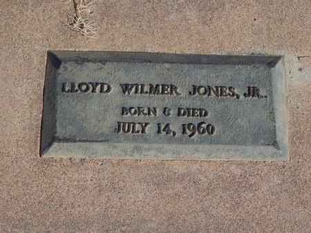 JONES, LLOYD WILMER JR - Kay County, Oklahoma | LLOYD WILMER JR JONES - Oklahoma Gravestone Photos