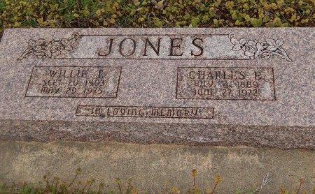 JONES, WILLIE T - Kay County, Oklahoma | WILLIE T JONES - Oklahoma Gravestone Photos