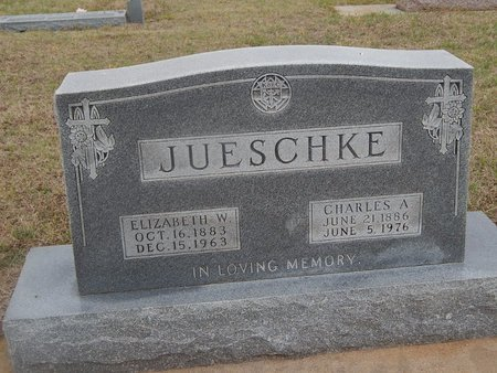 JUESCHKE, CHARLES A - Kay County, Oklahoma   CHARLES A JUESCHKE - Oklahoma Gravestone Photos