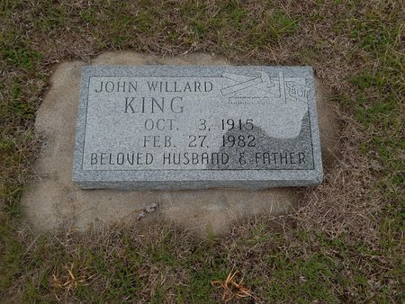 KING, JOHN WILLARD - Kay County, Oklahoma | JOHN WILLARD KING - Oklahoma Gravestone Photos