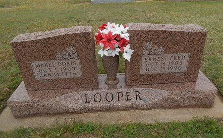 LOOPER, ERNEST FRED - Kay County, Oklahoma | ERNEST FRED LOOPER - Oklahoma Gravestone Photos