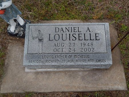 LOUISELLE, DANIEL A - Kay County, Oklahoma | DANIEL A LOUISELLE - Oklahoma Gravestone Photos