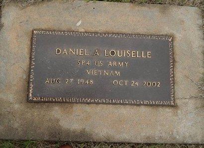 LOUISELLE (VETERAN VIET), DANIEL A - Kay County, Oklahoma | DANIEL A LOUISELLE (VETERAN VIET) - Oklahoma Gravestone Photos