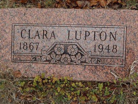 LUPTON, CLARA - Kay County, Oklahoma | CLARA LUPTON - Oklahoma Gravestone Photos