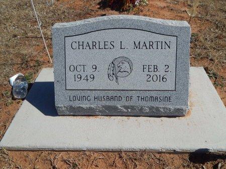 MARTIN, CHARLES L - Kay County, Oklahoma | CHARLES L MARTIN - Oklahoma Gravestone Photos