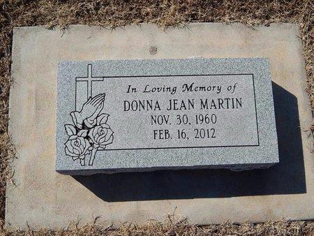 MARTIN, DONNA JEAN - Kay County, Oklahoma | DONNA JEAN MARTIN - Oklahoma Gravestone Photos