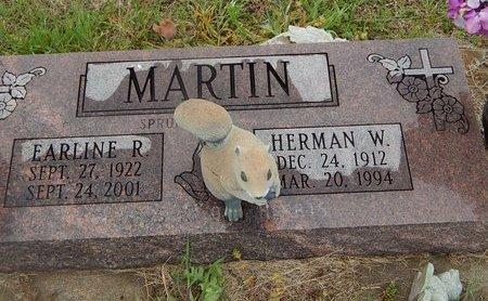 SPRUILL MARTIN, EARLINE - Kay County, Oklahoma | EARLINE SPRUILL MARTIN - Oklahoma Gravestone Photos