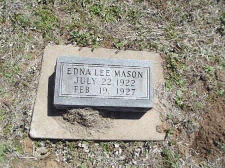 MASON, EDNA LEE - Kay County, Oklahoma | EDNA LEE MASON - Oklahoma Gravestone Photos