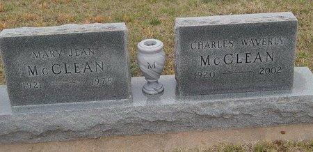MCCLEAN, MARY JEAN - Kay County, Oklahoma | MARY JEAN MCCLEAN - Oklahoma Gravestone Photos