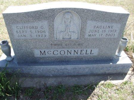MCCONNELL, PAULINE - Kay County, Oklahoma | PAULINE MCCONNELL - Oklahoma Gravestone Photos