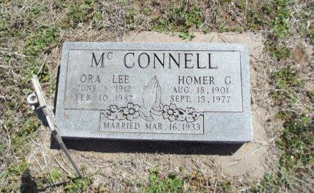 MCCONNELL, ORA LEE - Kay County, Oklahoma | ORA LEE MCCONNELL - Oklahoma Gravestone Photos
