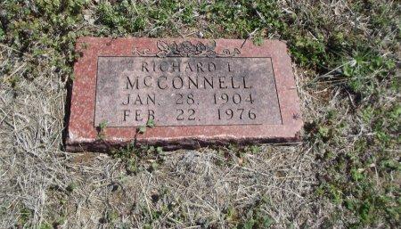 MCCONNELL, RICHARD L - Kay County, Oklahoma   RICHARD L MCCONNELL - Oklahoma Gravestone Photos