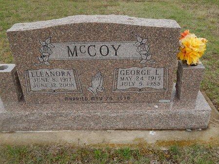 MCCOY, ELEANORA - Kay County, Oklahoma | ELEANORA MCCOY - Oklahoma Gravestone Photos