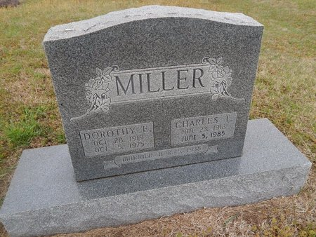 MILLER, CHARLES T - Kay County, Oklahoma | CHARLES T MILLER - Oklahoma Gravestone Photos