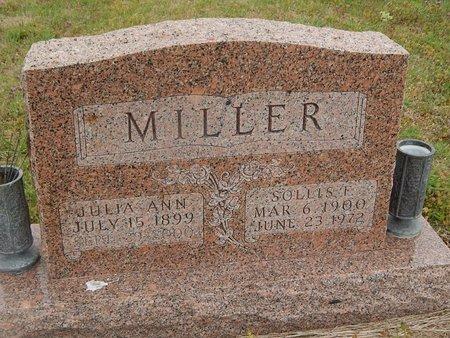 MILLER, JULIA ANN - Kay County, Oklahoma | JULIA ANN MILLER - Oklahoma Gravestone Photos