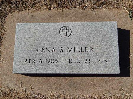 MILLER, LENA S - Kay County, Oklahoma   LENA S MILLER - Oklahoma Gravestone Photos