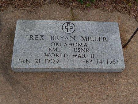 MILLER (VETERAN WWII), REX BRYAN - Kay County, Oklahoma   REX BRYAN MILLER (VETERAN WWII) - Oklahoma Gravestone Photos