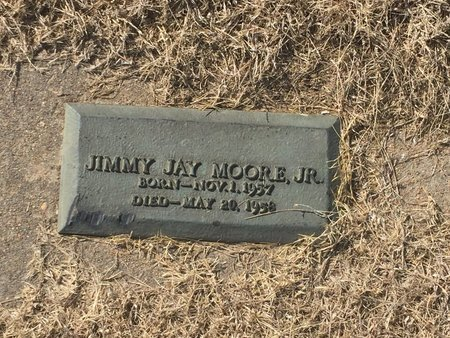 MOORE, JIMMY JAY JR - Kay County, Oklahoma | JIMMY JAY JR MOORE - Oklahoma Gravestone Photos