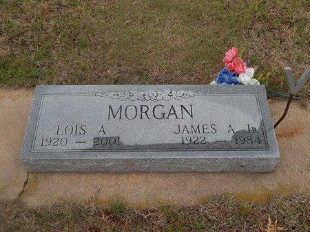 MORGAN, JAMES A JR - Kay County, Oklahoma | JAMES A JR MORGAN - Oklahoma Gravestone Photos