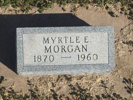 MORGAN, MYRTLE E - Kay County, Oklahoma   MYRTLE E MORGAN - Oklahoma Gravestone Photos