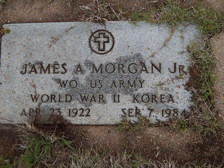MORGAN (VETERAN WWII KOR), JAMES A JR - Kay County, Oklahoma | JAMES A JR MORGAN (VETERAN WWII KOR) - Oklahoma Gravestone Photos