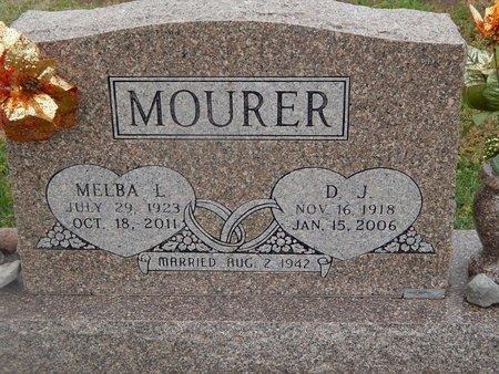 MOURER, MELBA L - Kay County, Oklahoma | MELBA L MOURER - Oklahoma Gravestone Photos