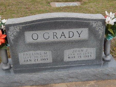 O'GRADY, PAULINE M - Kay County, Oklahoma | PAULINE M O'GRADY - Oklahoma Gravestone Photos