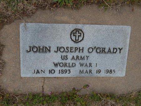 O'GRADY (VETERAN WWI), JOHN JOSEPH - Kay County, Oklahoma   JOHN JOSEPH O'GRADY (VETERAN WWI) - Oklahoma Gravestone Photos