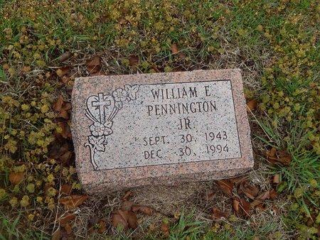 PENNINGTON, WILLIAM E JR - Kay County, Oklahoma | WILLIAM E JR PENNINGTON - Oklahoma Gravestone Photos