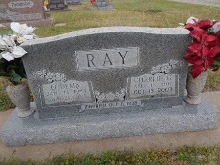 RAY, LODEMA - Kay County, Oklahoma | LODEMA RAY - Oklahoma Gravestone Photos