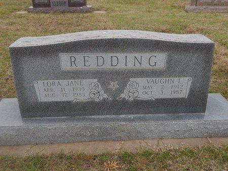 REDDING, LORA JANE - Kay County, Oklahoma   LORA JANE REDDING - Oklahoma Gravestone Photos