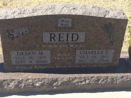 REID, EILEEN M - Kay County, Oklahoma | EILEEN M REID - Oklahoma Gravestone Photos