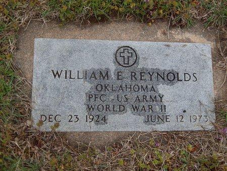 REYNOLDS (VETERAN WWII), WILLIAM E - Kay County, Oklahoma   WILLIAM E REYNOLDS (VETERAN WWII) - Oklahoma Gravestone Photos