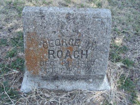ROACH, GEORGE M - Kay County, Oklahoma   GEORGE M ROACH - Oklahoma Gravestone Photos