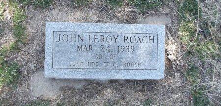 ROACH, JOHN LEROY - Kay County, Oklahoma | JOHN LEROY ROACH - Oklahoma Gravestone Photos